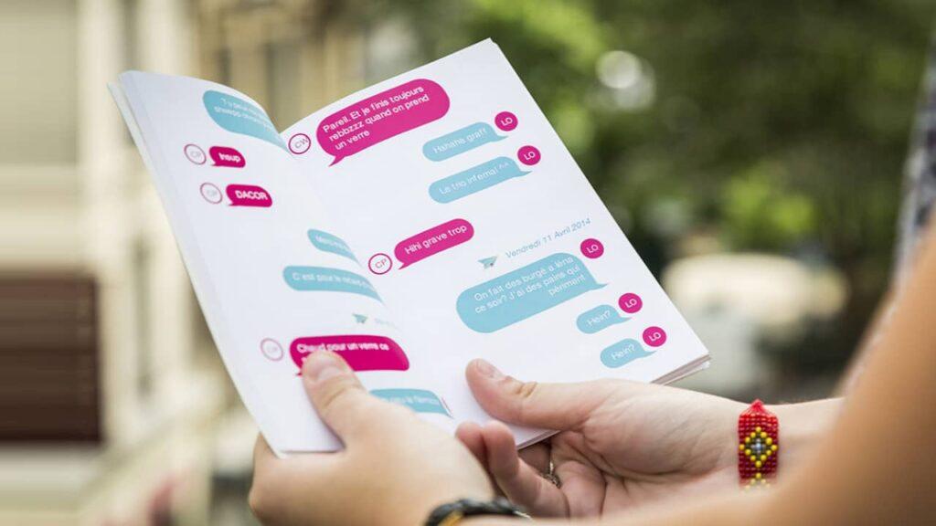 imprimer une conversation sms