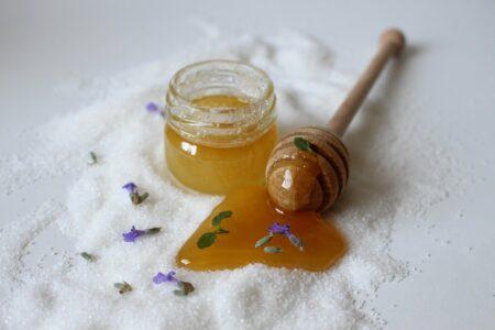 Miel en cosmétique