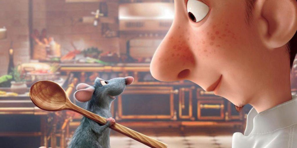 Ratatouille, film Disney sur la cuisine