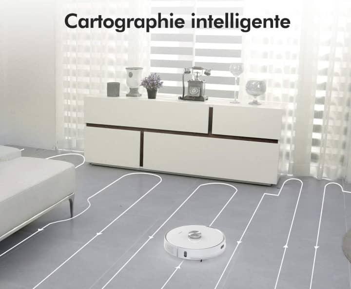 Neabot NoMo cartographie intelligente