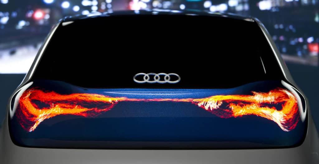 éclairage OLED voiture