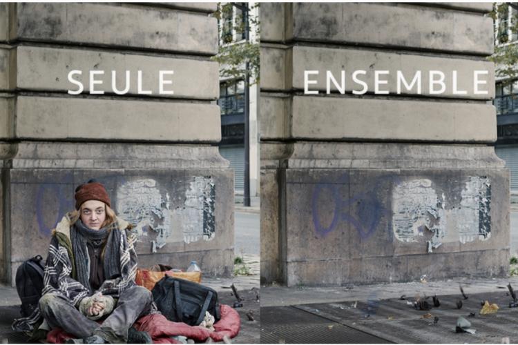 Fondation Abbé Pierre : pub avec Francis Cabrel et Vanessa David
