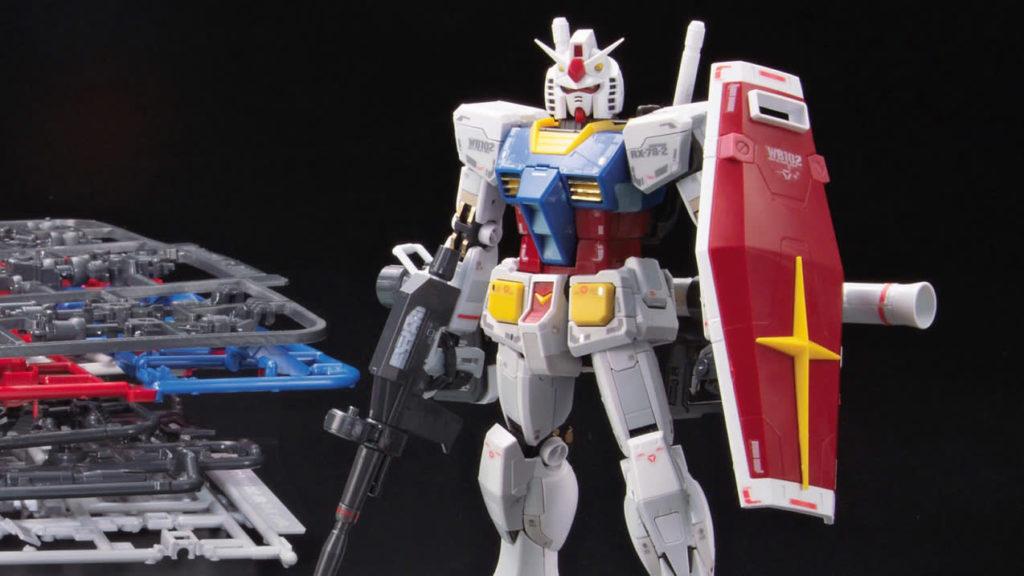 Le robot géant Gundam en image