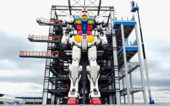 Gundam : le plus grand robot au monde est enfin prêt