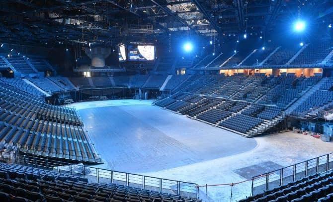 Salle de concert vide sans public