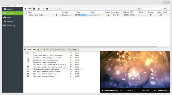 uTorrent classic