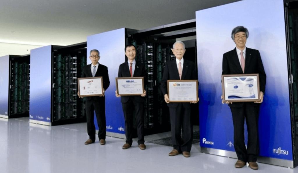 Fugaku devient le superordinateur le plus rapide du monde