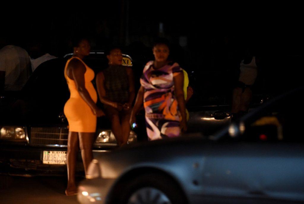 Prostituées nigérianes dans Oloturé