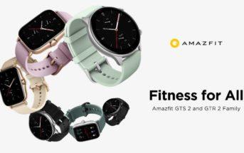 Code promo Amazfit GTS 2e et GTR 2e : les nouvelles montres à 115€ !