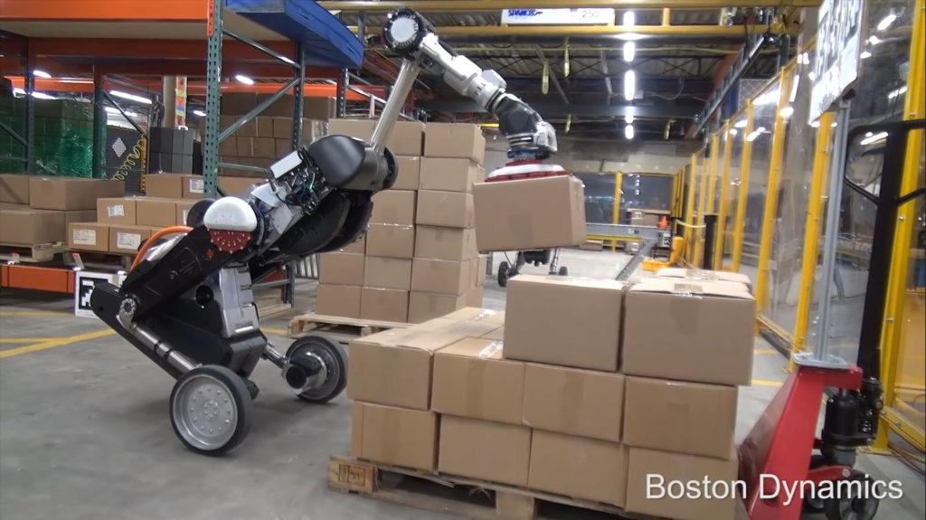Handle le robot de Boston Dynamics
