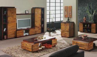 déco salon meubles en bois