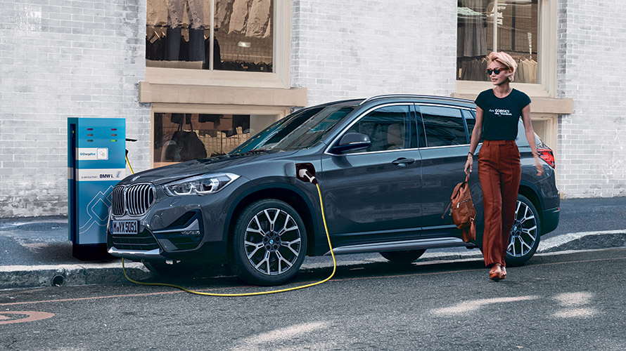 Hybride rechargeable BMW