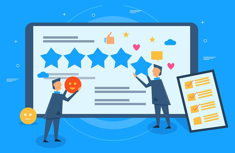 notes et commentaires pour attirer nouveaux clients