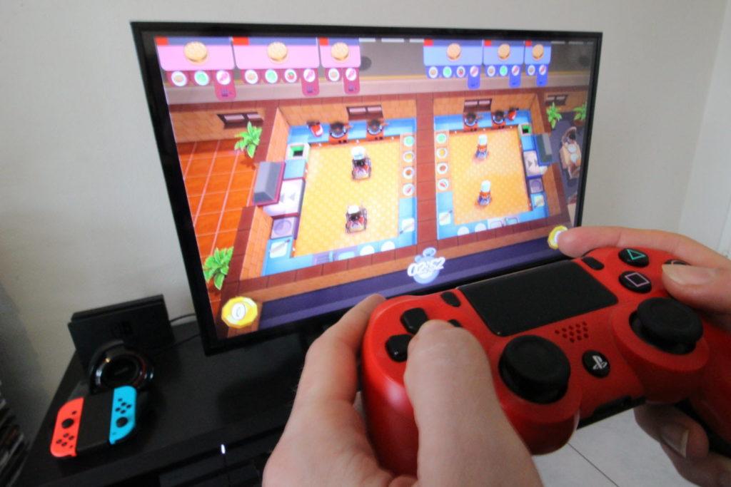 Jeux vidéo écran tv