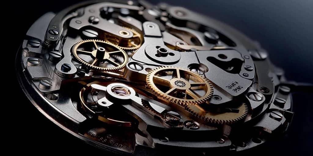 mécanisme d'une montre