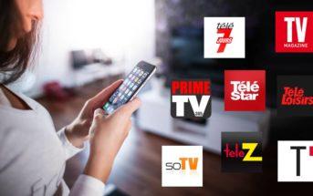 Programme tv tnt & box gratuit : les meilleures applications télé 2021 [Android & iOS]