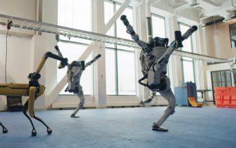 Boston Dynamics : les robots dansent pour fêter le nouvel an