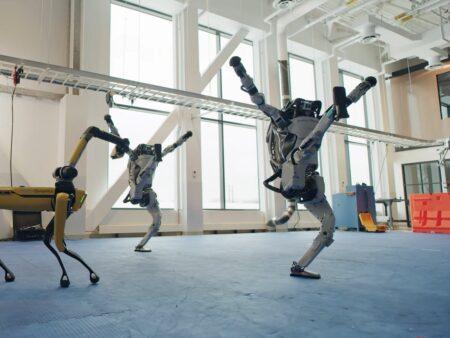 La chorégraphie des robots de Boston Dynamics