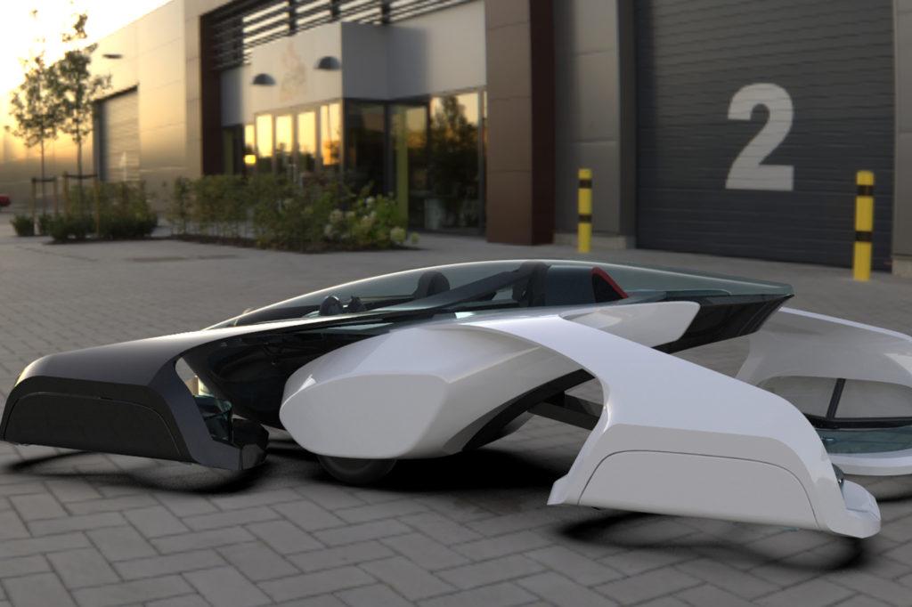 La voiture volante SD-XX