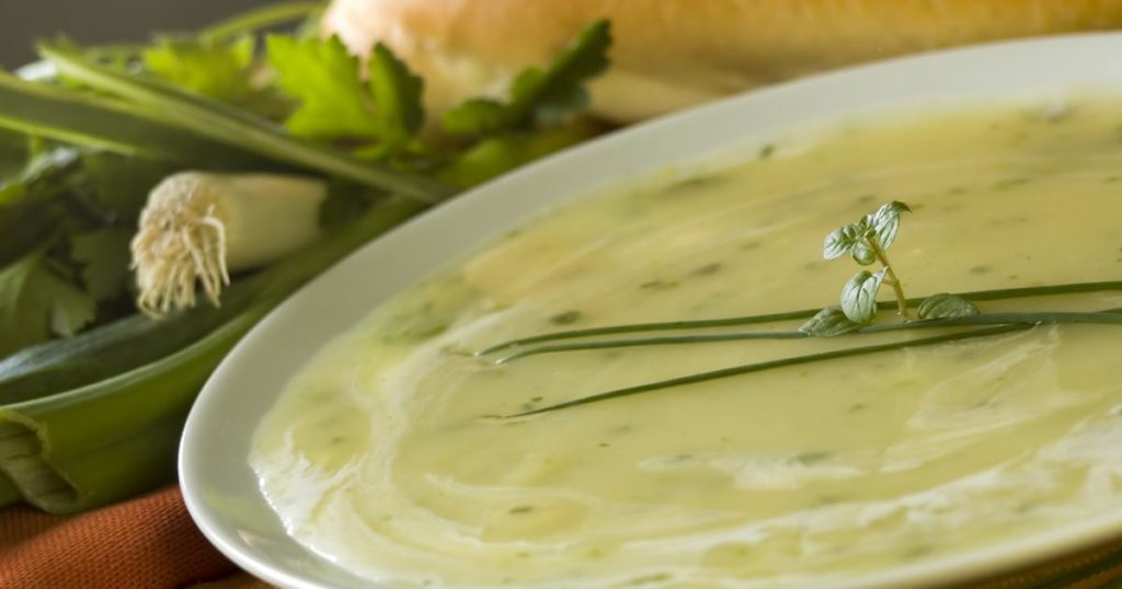 Recette soupe facile poireau