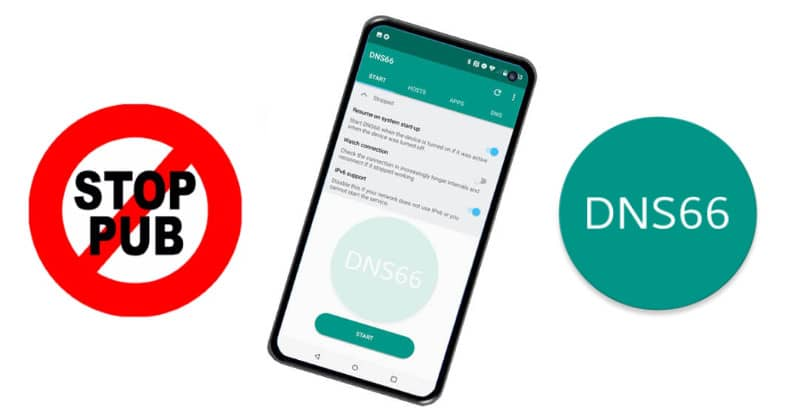 stop pub android dns66