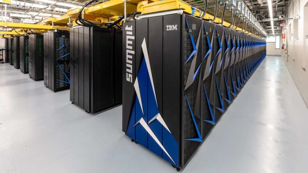 Le supercalculateur IBM Summit