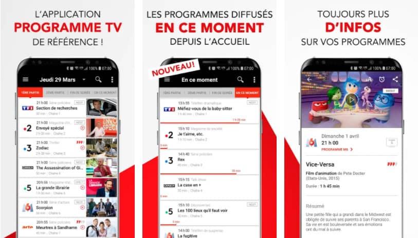 télé 7 jours : application programme tv