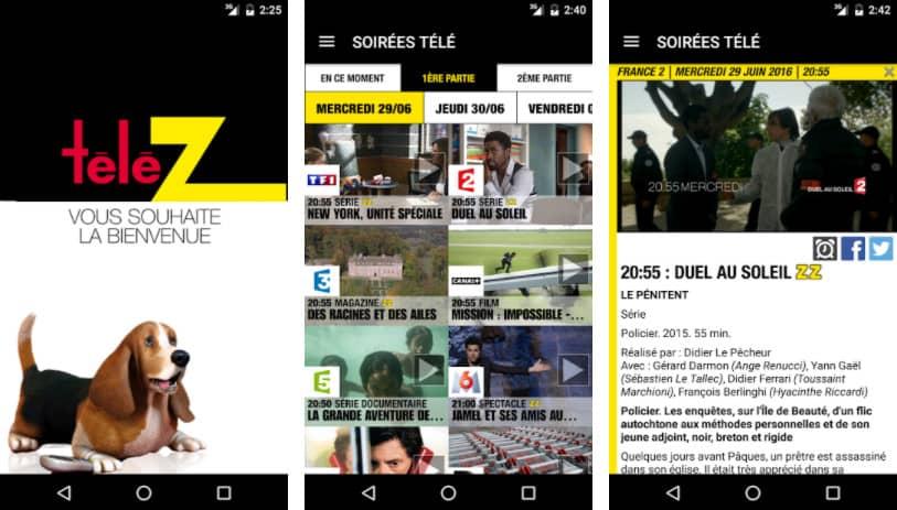 Télé Z : application programme tv