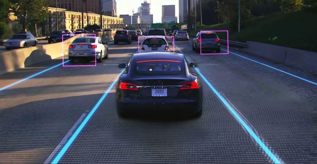 Tesla véhicule autonome