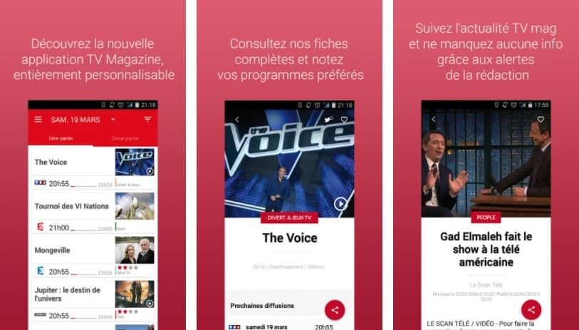 TV Magazine : application programme tv