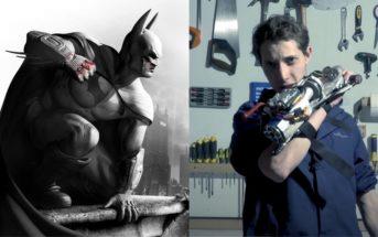 Batman : JT recrée le grappin  de Bruce Wayne