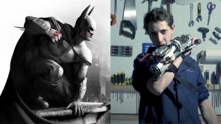 Le grappin de style Batman par le Youtuber JT