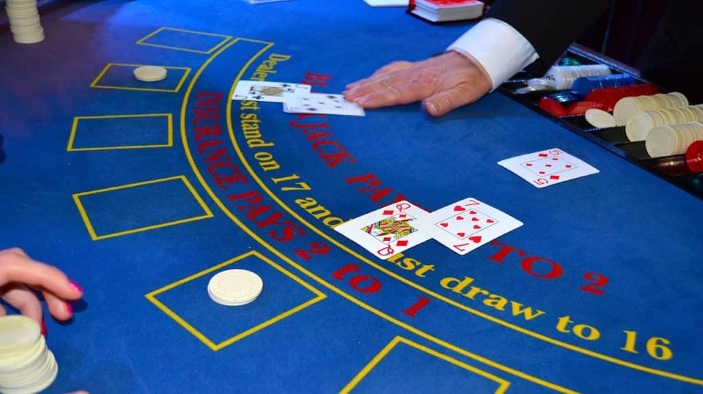 croupier blackjack