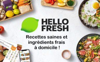 Code promo HelloFresh : 50€ de réduction sur la livraison de vos repas en kit