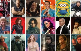 Sorties cinéma 2021 : liste des films les plus attendus