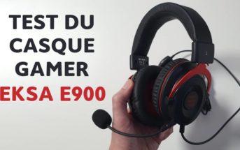 EKSA E900 : test et avis du casque gamer avec micro pas cher
