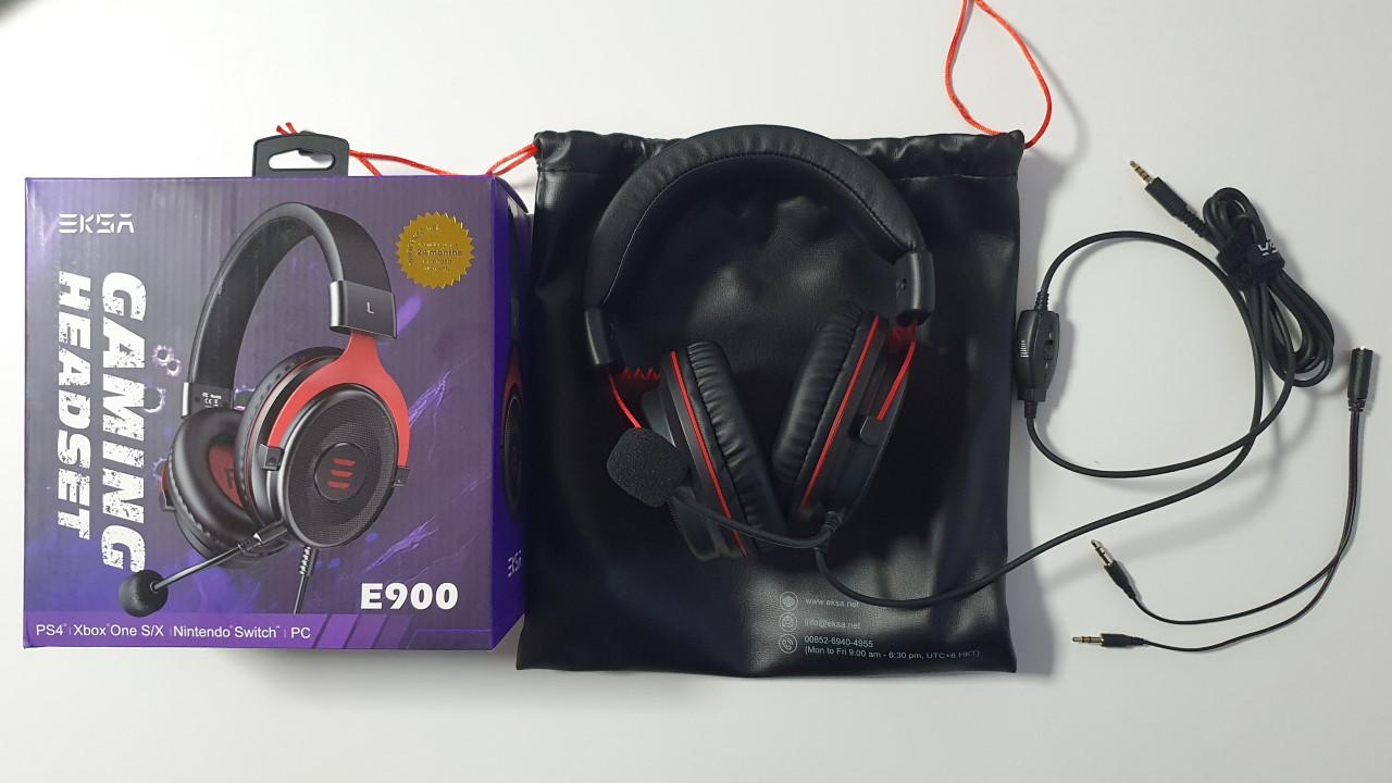 test Casque Gamer EKSA E900 unboxing