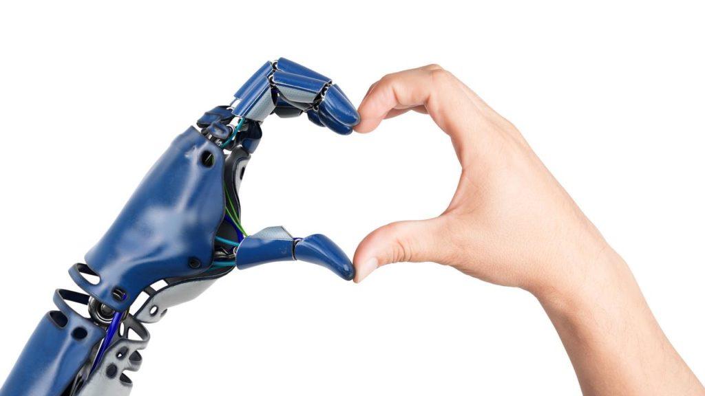 Avenir relations entre homme et humanoïde