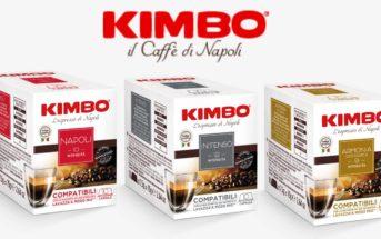 """KIMBO, les capsules de café compatibles avec la machine Lavazza® """"A MODO MIO®"""""""