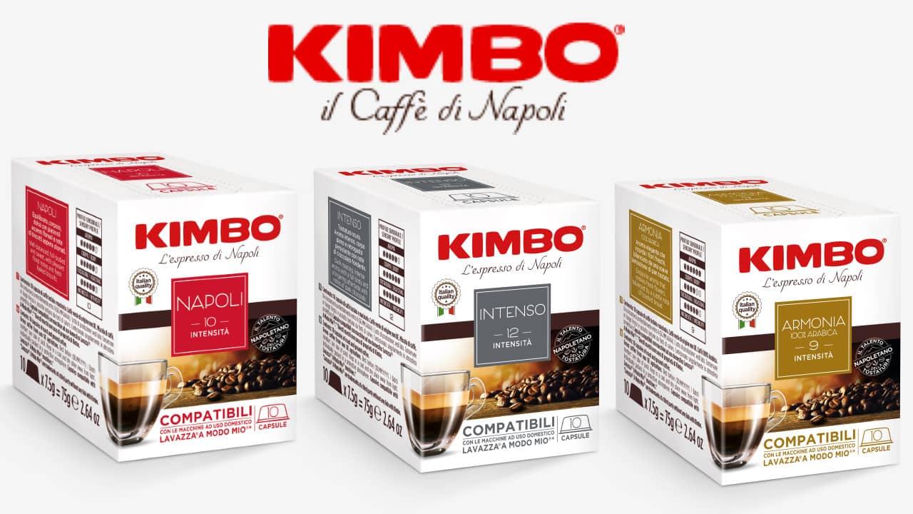 Kimbo Napoli - capsules compatibles Lavazza® A Modo Mio