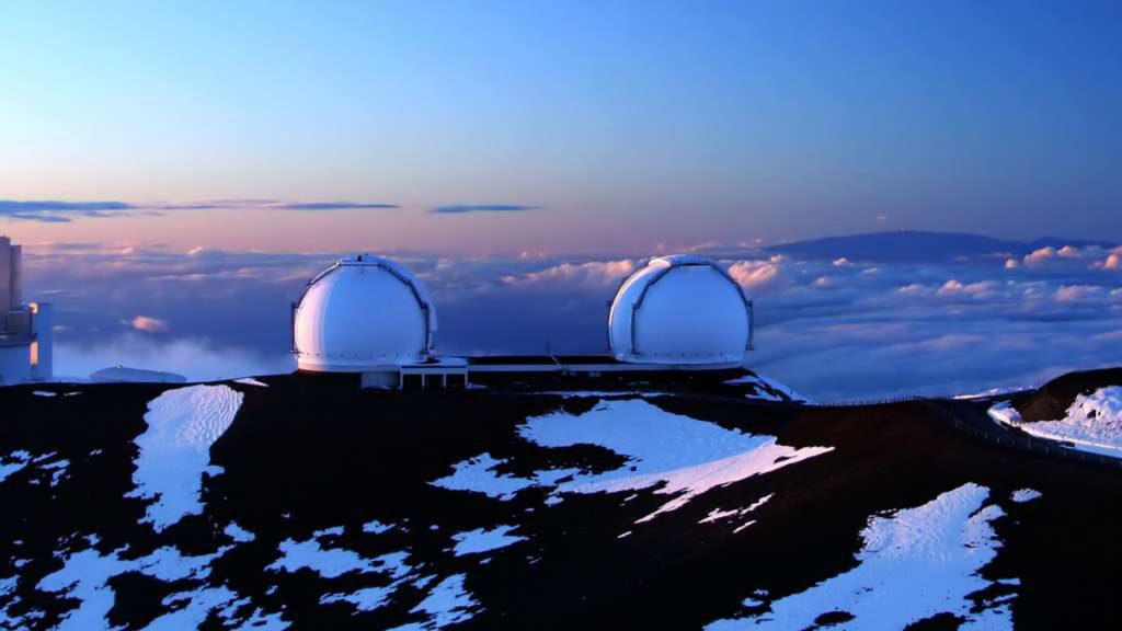 Les télescopes jumeaux Keck I et Keck II