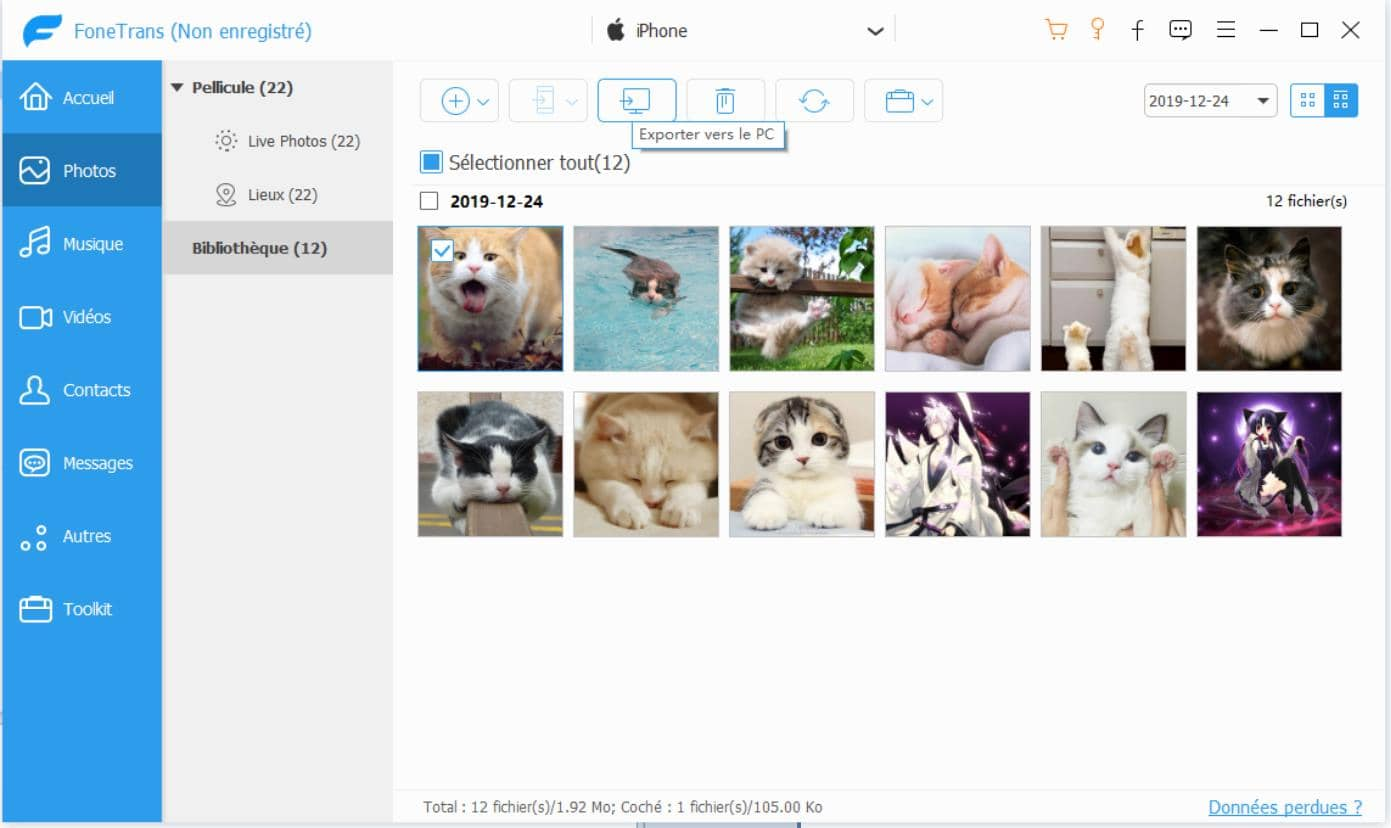 Aiseesoft FoneTran Transfert iOS - image 3