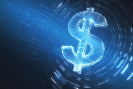 Dollar vortex du style blockchain