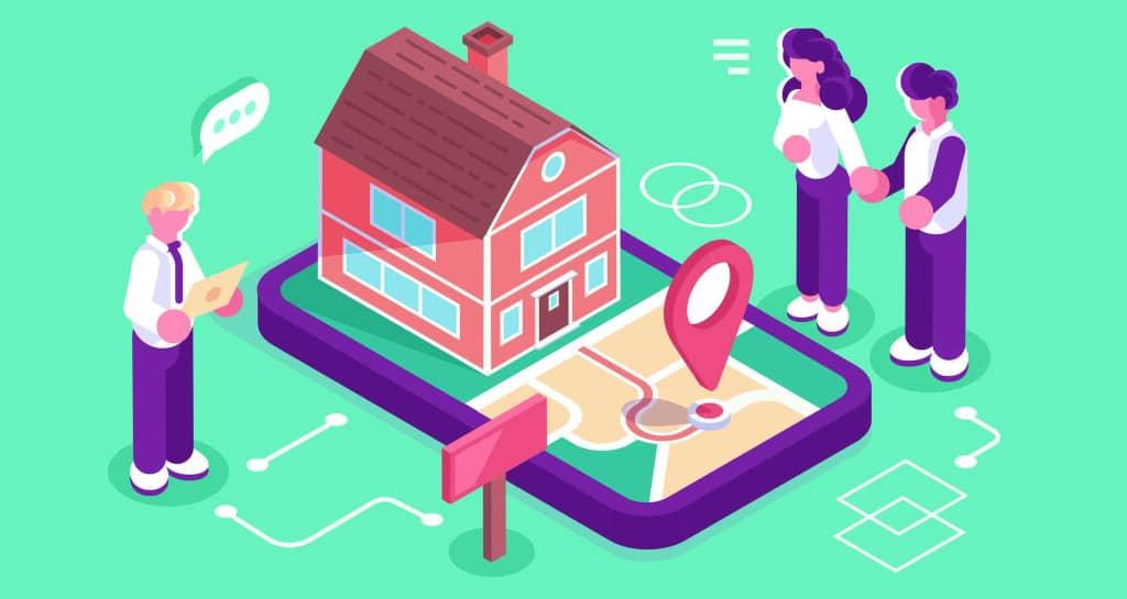 localisation d'un bien immobilier