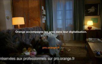 Musique pub Orange pro pour l'accompagnement à la digitalisation