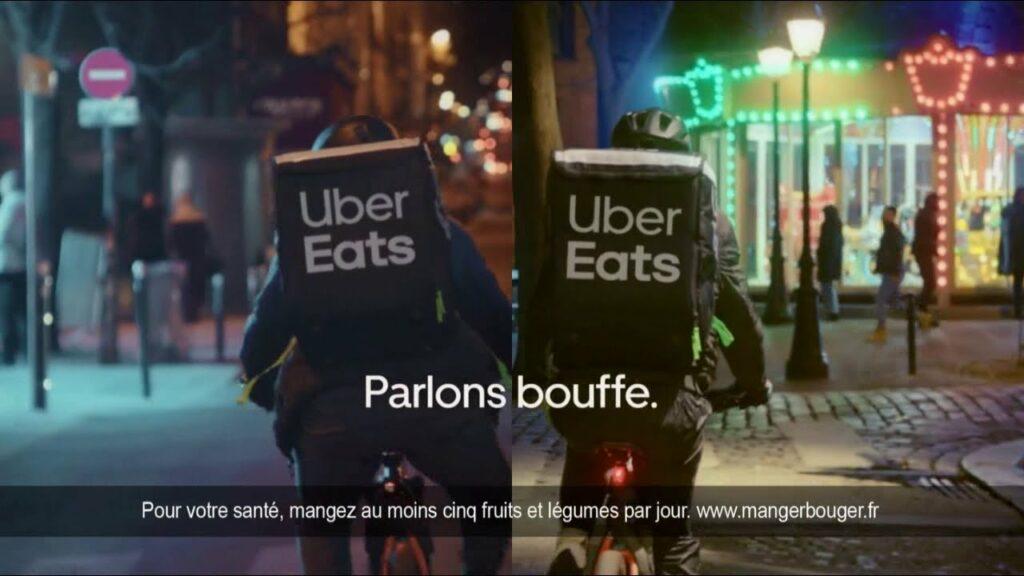 Musique de la pub Uber Eats 2021