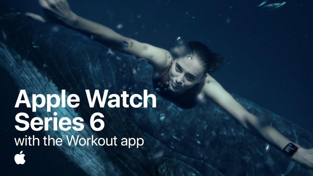 Musique électro pop de la pub Apple Watch 2021