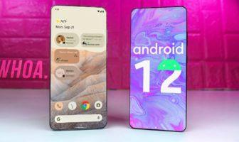 Android 12 : voici les téléphones qui bénéficieront de la mise à jour
