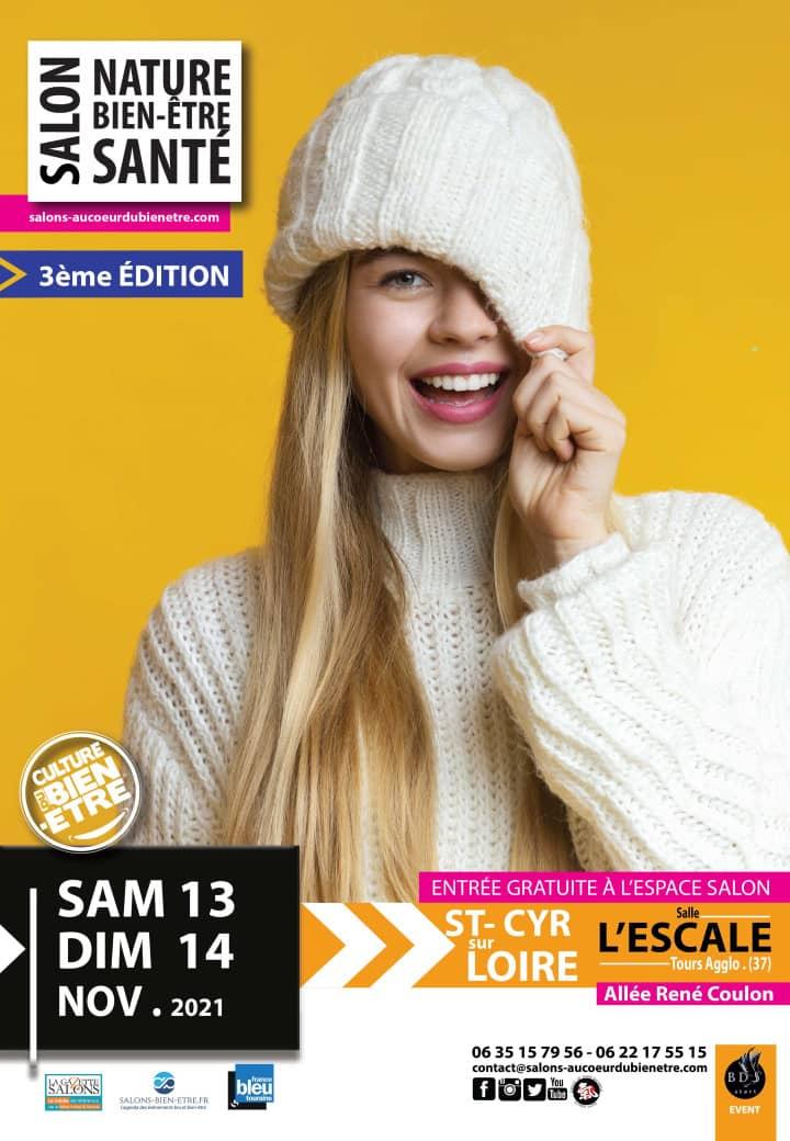 salon nature, bien-être et santé Tours / Saint-Cyr-sur-Loire 2021