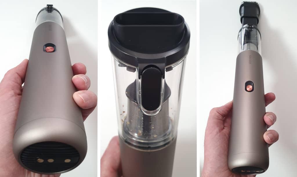 test mondzucker vx mini aspirateur à main 02